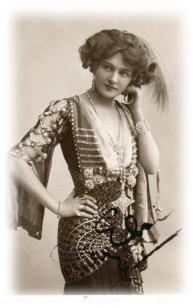 Lily Elsie as she appeared in The Merry Widow.